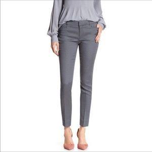 Banana Republic Black & White Sloan Ankle Pants